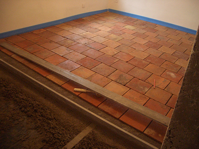 Badens old tile floor by suandco