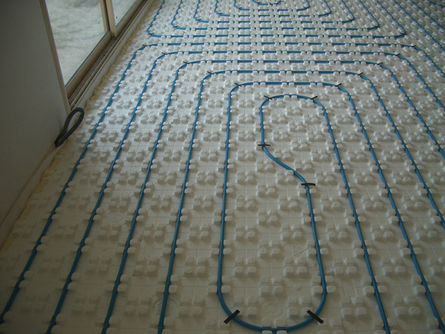 Underfloor heating by suandco